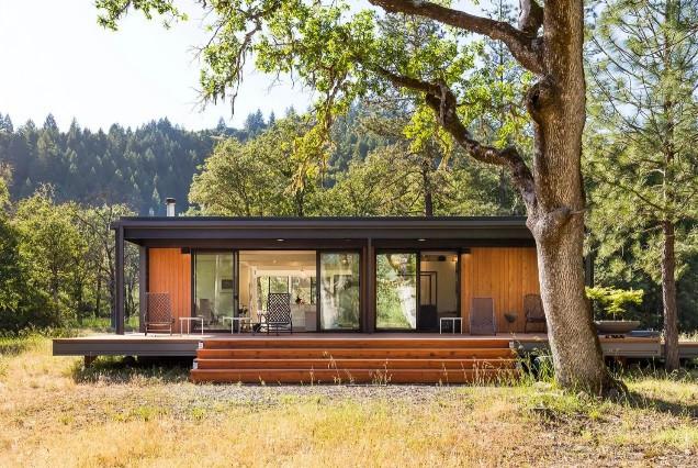 Estas casas pré-fabricadas são inspiradas na Apple e construídas em menos de uma semana