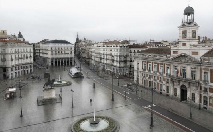 Madrid, Roma ou Nova Iorque desertas: o fotógrafo que antecipou ver estas cidades vazias